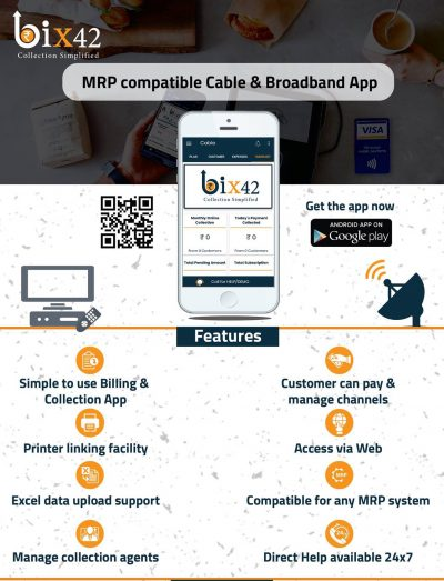 Cable Billing Software Bix42 Features